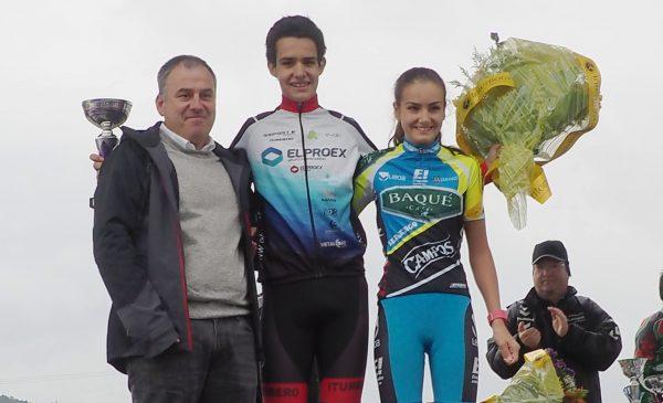 Ganadores del Premio Ciclo-Cross de Amorebieta