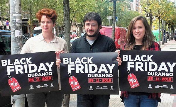 Esta mañana ha tenido lugar la presentación del Black Friday de Durango FOTO. dotb.eus