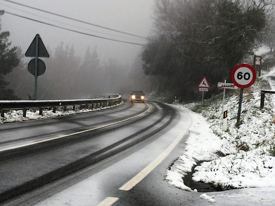 [dotb.eus] La nieve descenderá hasta los 500 metros el domingo
