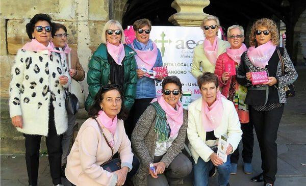 Grupo de Voluntarias de AECC de Durango FOTO: AECC