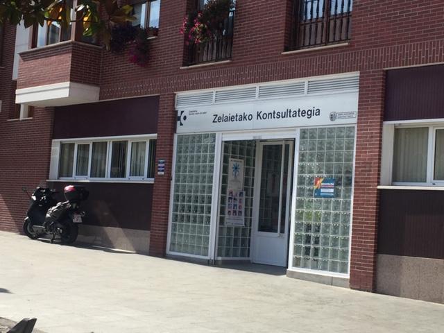Imagen del centro de salud de Zelaieta