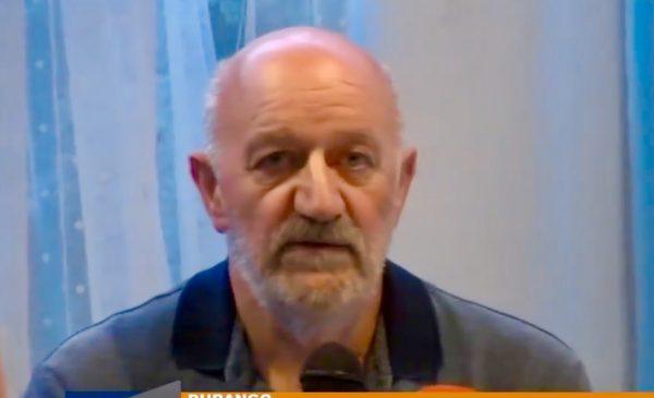 Juan Echarte, en la última presentación de la Pasión