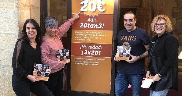 [dotb.eus] San Agustín Kultur Gunea de Durango presenta el novedoso bono '20tan 3′