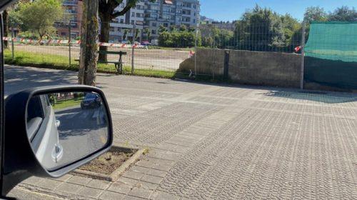 Imagen del solar donde irá ubicado el nuevo parking