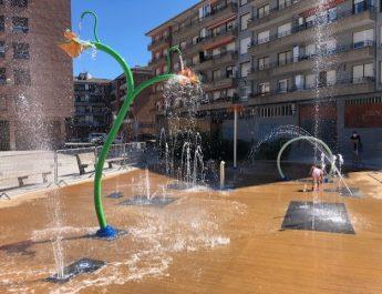 [dotb.eus] Los nuevos juegos acuáticos de Matiena podrán utilizarse sin cita previa