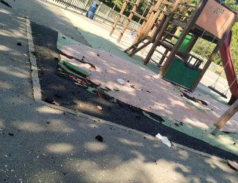 [dotb.eus] Denuncian el mal estado del parque infantil de Landako