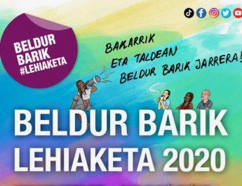 [dotb.eus] Elorrio anima a la juventud a participar en Beldur Barik 2020