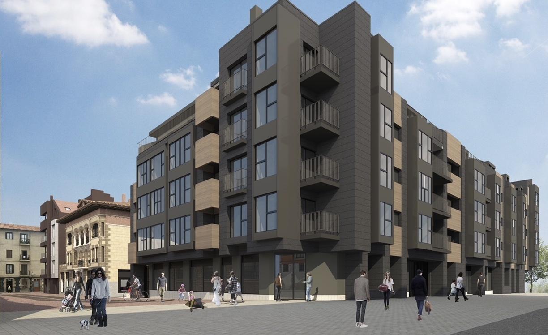[dotb.eus] 53 nuevas viviendas transformarán las calles Uribarri y Azoka de Durango
