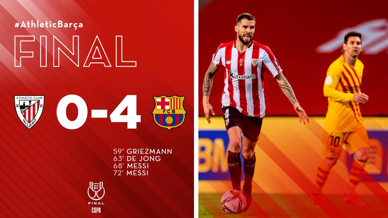 [dotb.eus] El Athletic pierde su segunda final de Copa