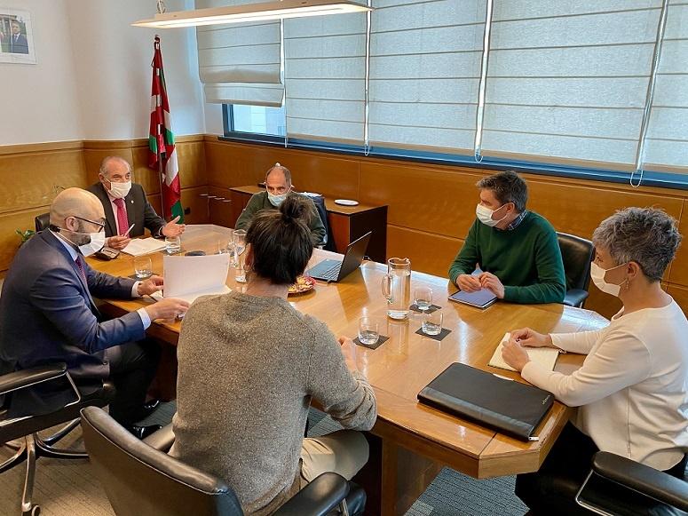 "[dotb.eus] Arriola quiere ""buscar consensos, cumpliendo los compromisos adquiridos"""