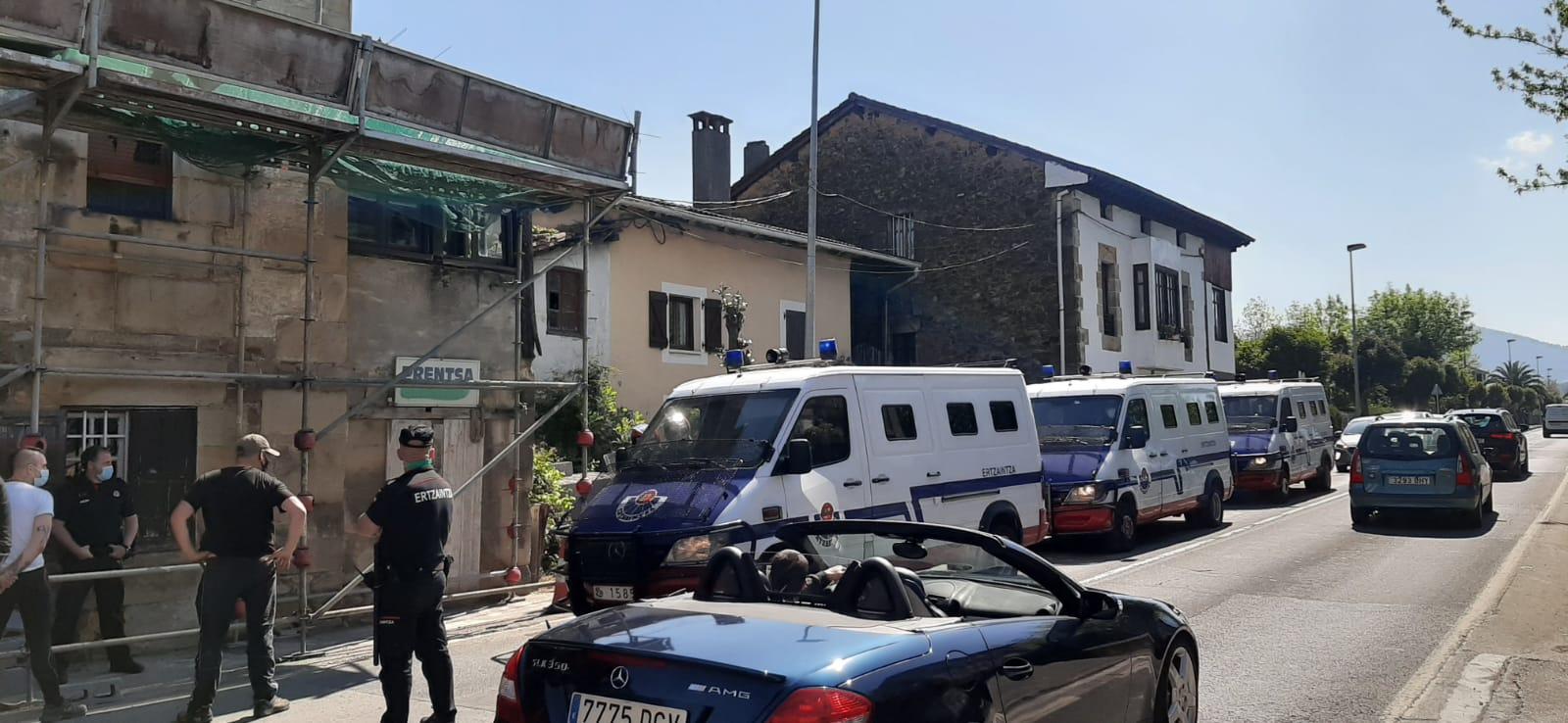 [dotb.eus] Desalojan una casa ocupada en Abadiño
