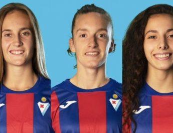 [dotb.eus] Las durangarras Irati Martín y Nahia Larrinaga y la berriztarra Uxue Guezala debutan en el Eibar